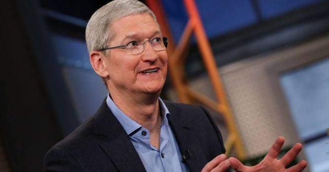 Let Apple's stock 'settle down' before you start buying 4