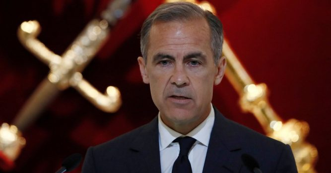 Mark Carney speaks following Bank of England's decision to hold rates 3