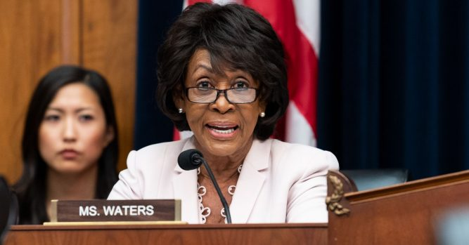 Maxine Waters wants terror finance panel to oversee foreign banks: Report 10