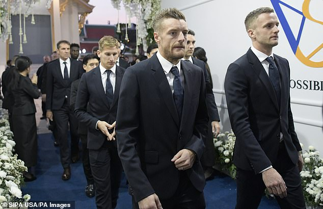 Vardy to auction off box to raise money for Vichai's foundation 5