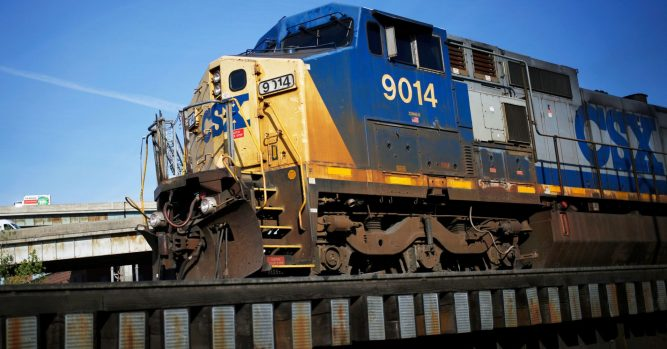 CSX shares fall after the railroad operator forecast less robust revenue growth for 2019 3