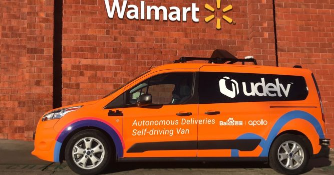 Walmart taps Udelv for latest driverless car, grocery delivery tests 1