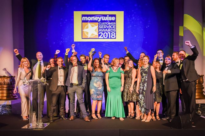 Pick the winner of the Moneywise Customer Service Awards 2019 1
